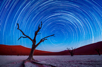 Star Trails, Deadvlei, Namibia