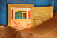 Sand Filled Rooms I, Kolmanskop, Namibia